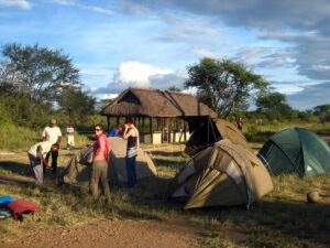 rwanda camping